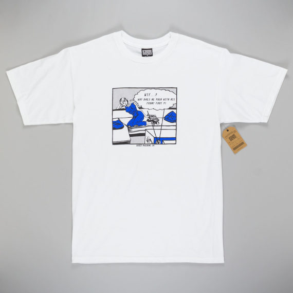 Loser Machine Mongo T-Shirt White