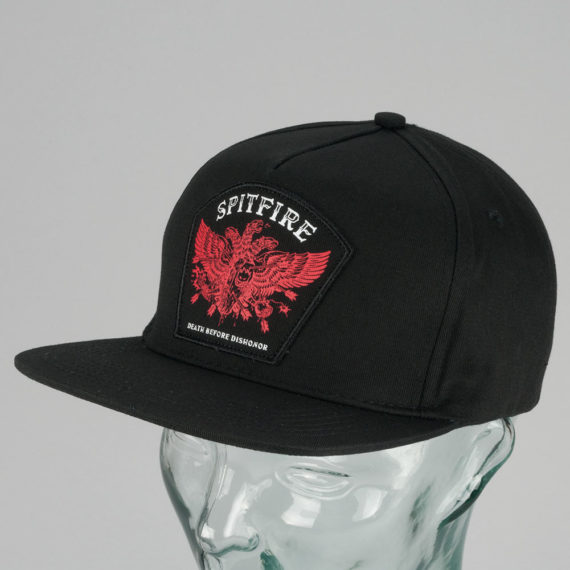 Spitfire Wheels Death Before Dishonour Hat Black