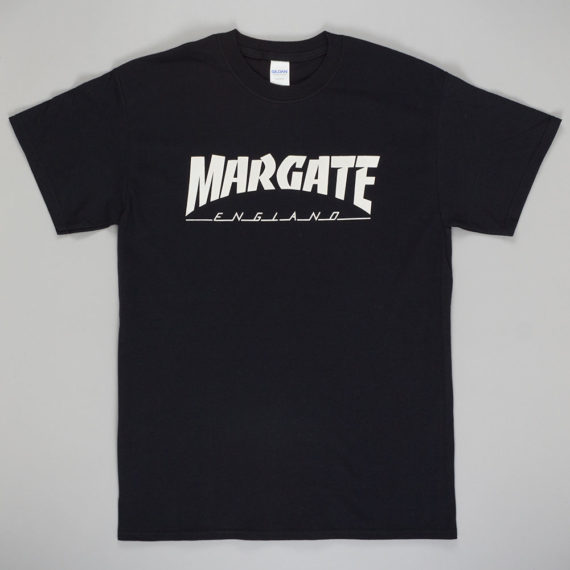 Unofficial Margate Masher T-Shirt Black