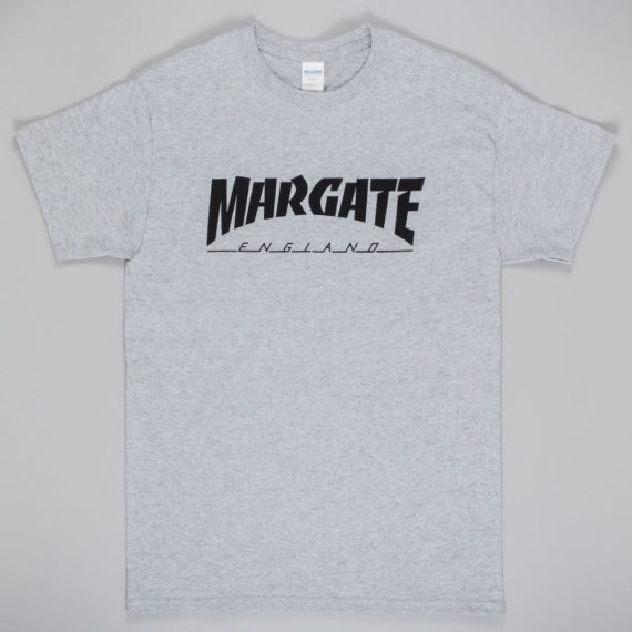 Unofficial Margate Masher T-Shirt Grey