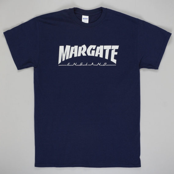 Unofficial Margate Masher T-Shirt Navy