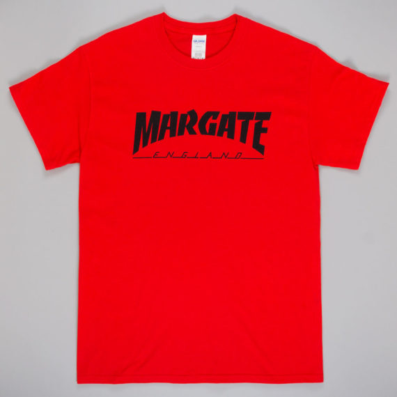 Unofficial Margate Masher T-Shirt Red