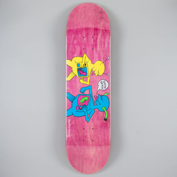 Polar Skateboards Dane Brady TV Kid Deck 8.125""