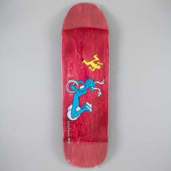 "Polar Skateboards Ron Chatman 1991 Guest Pro Deck 9.5"""