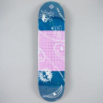 "National Skateboard Co Ravers Deck 8.25"""
