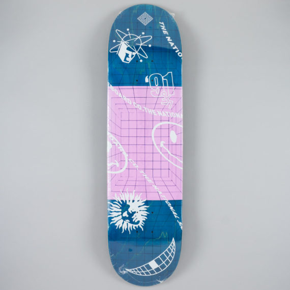 National Skateboard Co Ravers Deck 8.25""