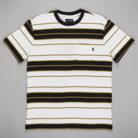 Dark Seas Clothing Course Knit T-Shirt White