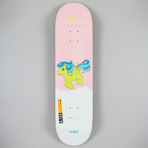 Enjoi Ben Raemers Little Pony Pro Deck 8.125""