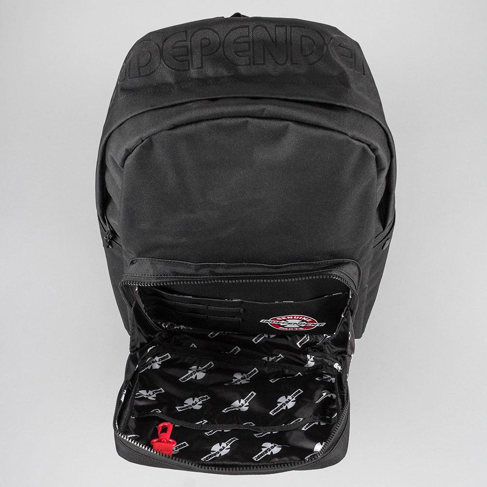 dbca43d75e5 Herschel x Independent Pop Quiz Pack Backpack Black at Skate Pharm