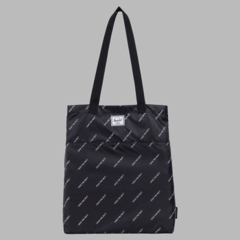 Herschel x Independent F#*k The Rest Packable Tote Black