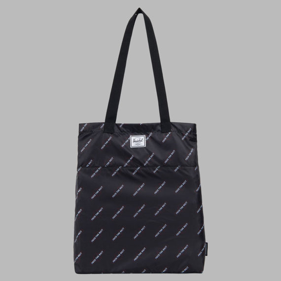 Herschel x Independent F#*k The Rest Packable Tote Black