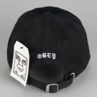 Obey Clothing Slander 6 Panel Hat Black