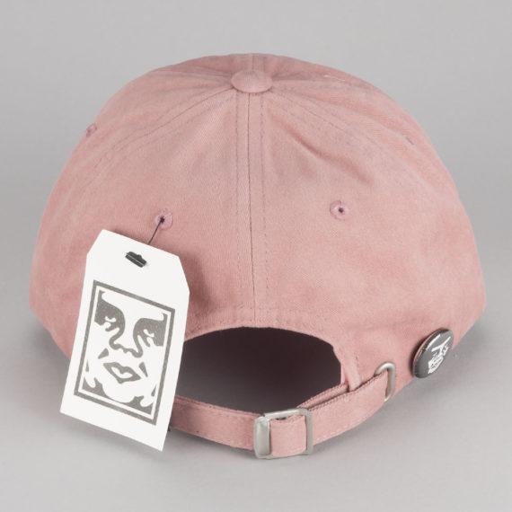 Obey Clothing Jumble Bar III 6 Panel Hat Rose