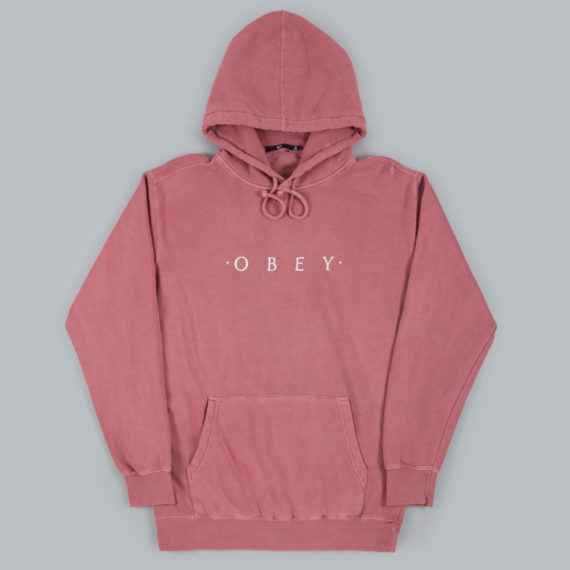 Obey Clothing Novel Hoodie Dusty Dark Roses