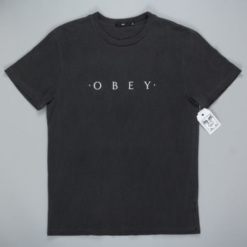 Obey Clothing Novel T-Shirt Dusty Black