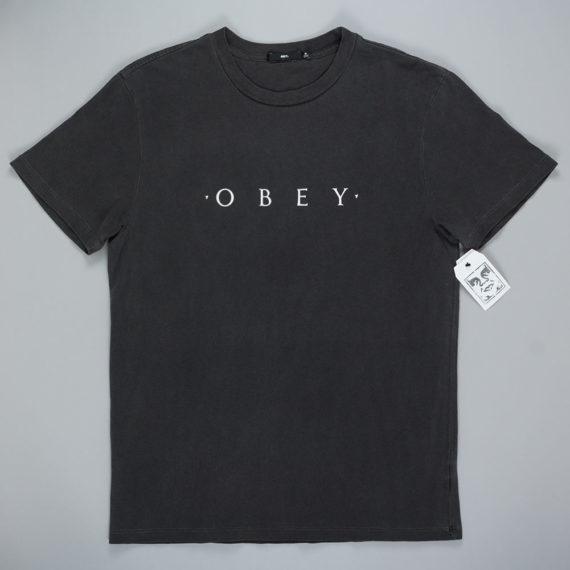 Obey Clothing Novel T-Shirt Dusty Black