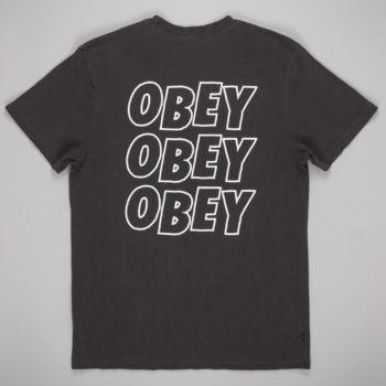 Obey Clothing Jumble Lo-Fi T-Shirt Dusty Black