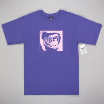 Obey Clothing Screamer T-Shirt Purple