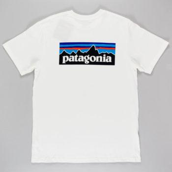 Patagonia P-6 Logo T-Shirt White