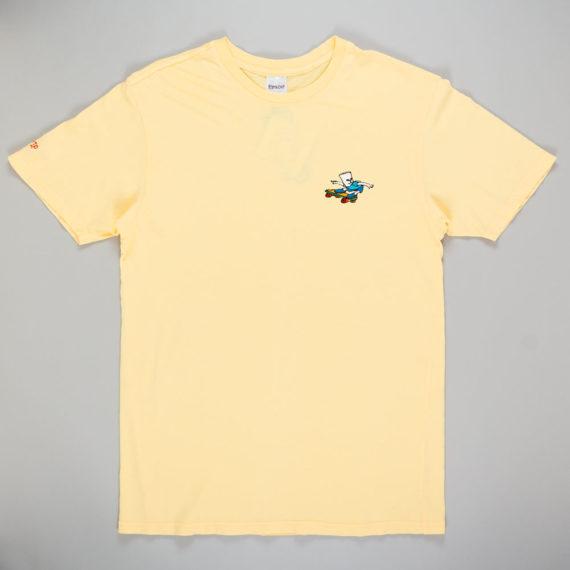 Rip'N'Dip Catwabunga T-Shirt Yellow