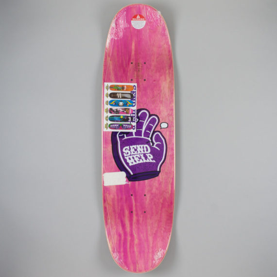 Send Help Time Piss Shaped Deck 9.0″