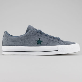 Converse One Star Pro OX Shoes Sharkskin Atomic Teal