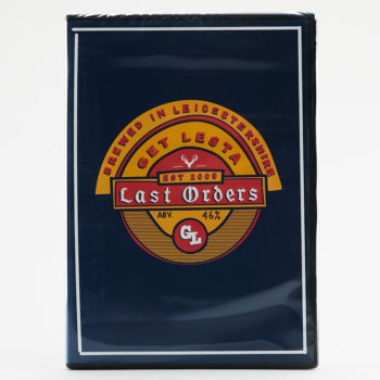 The Get Lesta Last Orders DVD