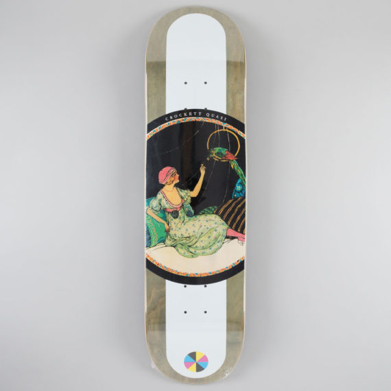 Quasi Gilbert Crockett Birds Two Deck 8.25""