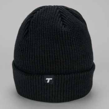 Theobalds Cap Co Classic Team Beanie Black