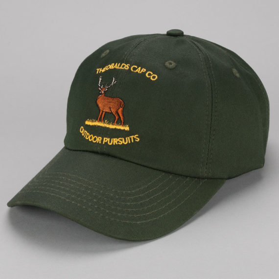 Theobalds Cap Co Outdoor Pursuits Deer Warden Hat Green