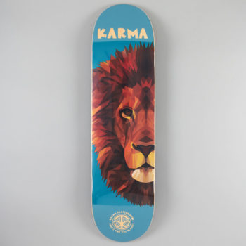 "Karma Skateboards Skate For The Planet Lion Deck 8.25"""