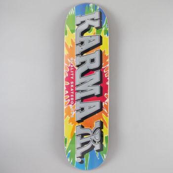 "Karma Skateboards Kizla Tie Dye Deck 8.25"""