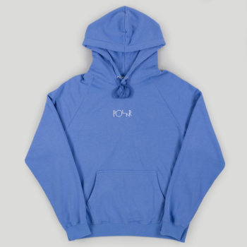 Polar Skateboards Default Hoodie Baja Blue