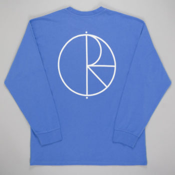 Polar Stroke Logo Long Sleeve T-Shirt Baja Blue