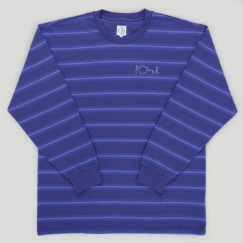 Polar Skateboards 91 Long Sleeve T-Shirt Violet