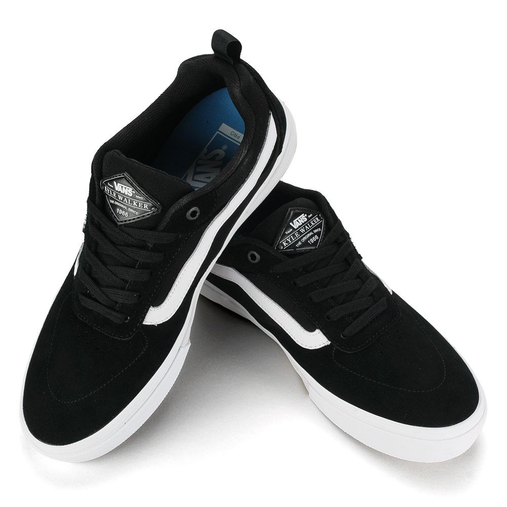 vans skate shoes black