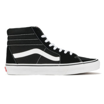 Vans Sk8-Hi Shoes Black White