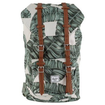 Herschel Little America Backpack Silver Birch Palm Tan