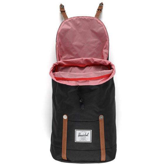 Herschel Retreat Backpack Black Tan