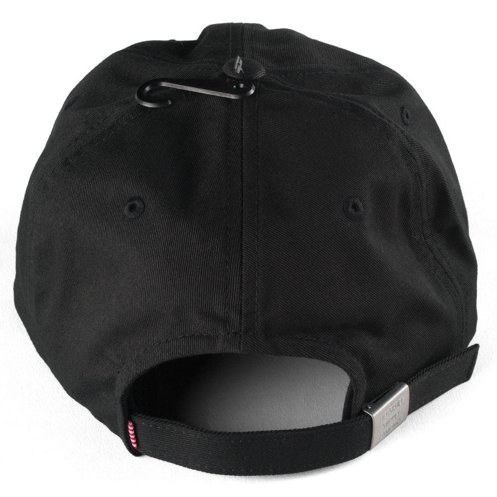 Buy the Herschel Albert Cap Black Available at Skate Pharm dcaafb345e68