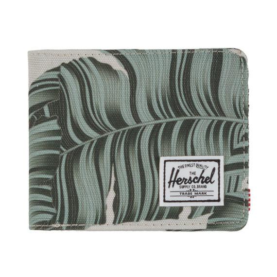 Herschel Roy Wallet Silver Birch Palm