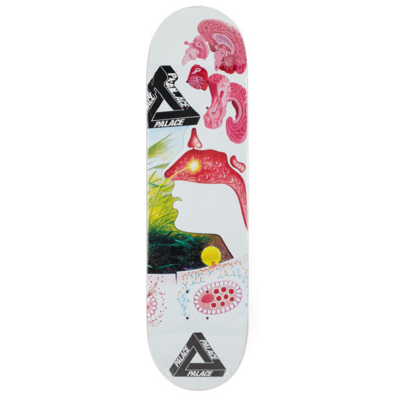 Palace Skateboards Brains Deck 8.375""