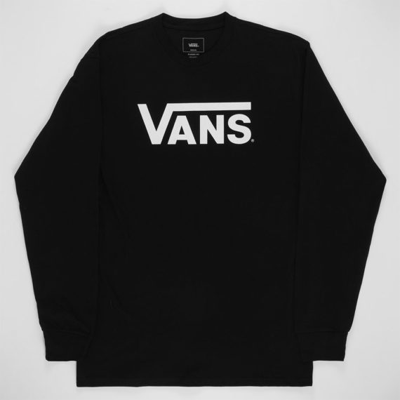 Vans Classic Long Sleeve T-Shirt Black