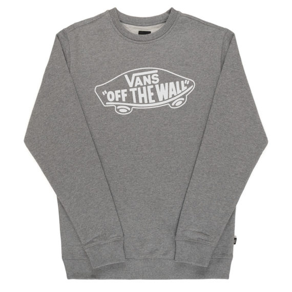 Vans OTW Logo Sweatshirt Concrete Heather