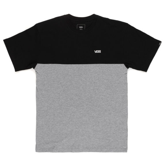 Vans Colorblock T-Shirt Black Heather