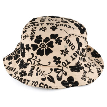 Dark Seas Clothing Good Times Bucket Hat Apricot