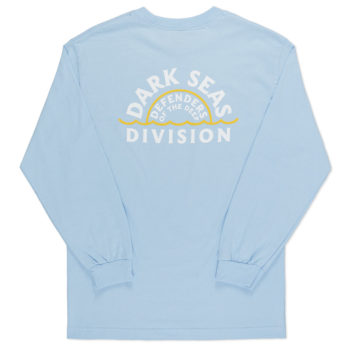 Dark Seas Sunset Long Sleeve T-Shirt Powder Blue