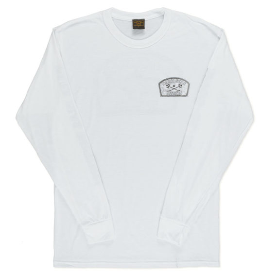 Dark Seas Tarpon Wick Long Sleeve T-Shirt White