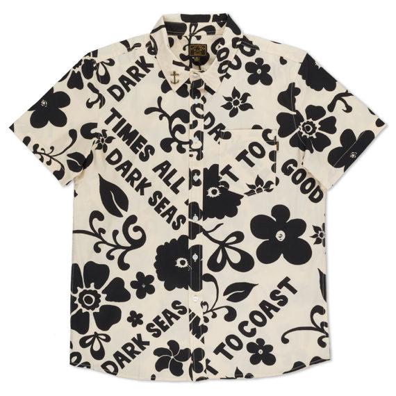Dark Seas Clothing Fiji Shirt Apricot