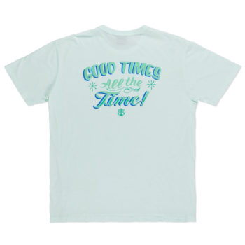 Dark Seas Goodtime Tuki Old Time T-Shirt Green